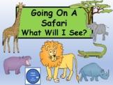 Safari Fun - Make a Fun Book - Writing Prompts -Sight Words