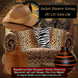 Safari Hunter Living Transparent Commercial Use Clip Art