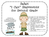 "Safari ""I Can"" Statements for 2nd Grade"