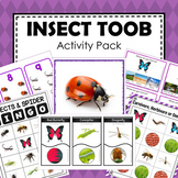 Safari  Toob Insect Preschool Kindergarten Learning Pack