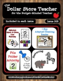 Safari - Issue 008 - The Dollar Store Teacher Newsletter {