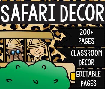Safari/Jungle Decor