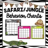 Safari/Jungle Sticker Chart