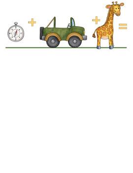 Safari - Jungle Theme: Collaborative Story Starters - Visual Writing Prompts