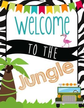 Safari | Jungle Themed Classroom Posters {11x17 or 8x11}