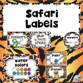 Safari Labels Custom Order for Mindy C.