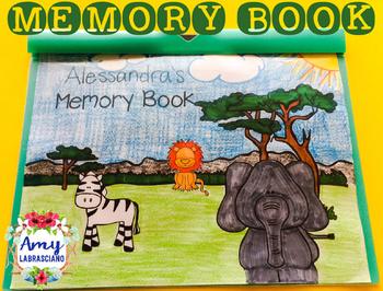 Memory Book Safari Theme