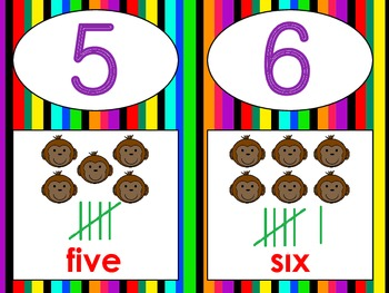 Jungle Number Lines