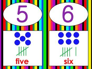 Jungle Number Lines
