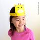 Safari Paper Crown/Hat, Printable Mask, Costume: Elephant, Lion, Giraffe, Zebra