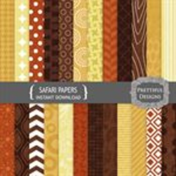 Safari Paper Pack