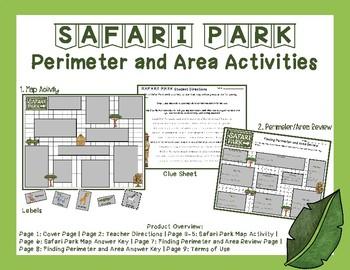 Safari Park Perimeter and Area Activities