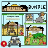 Safari Park and Animal Emergent Reader Bundle - Books Pict