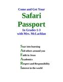 Safari Passport