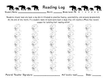 Safari Reading Log