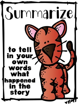 Safari Reading Strategy Posters