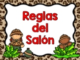 Safari - Reglas del Salón (Spanish Safari Class rules)