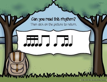 Safari Rhythm Adventure! Interactive Rhythm Practice Game - Ti-tika