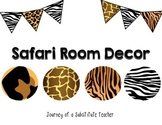 Safari Room Decor Pack