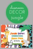 Animal Classroom Super Pack (Editable)