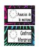 Safari Schedule Cards {Spanish}