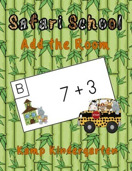 Safari School Add the Room (Sums of 0 to 10)