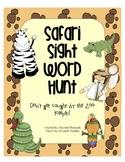 Safari Sight Word Hunt