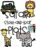 Safari Stem-And-Leaf Plots Room Transformation & Activity