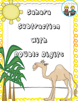 Sahara Subtraction ~ Double Digit Subtraction Without Regrouping