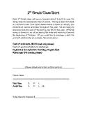 Class Shirt Order Form