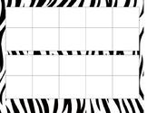 Safari Ten Frames