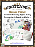 ABC Bootcamp! A 26 Day Introduction To Letters And Sounds