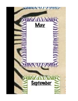 Safari Theme - Birthday Chart