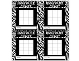 Safari Theme - Homework Chart