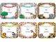 Safari Theme Name Cards {EDITABLE}