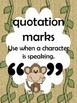Safari Theme Punctuation Posters