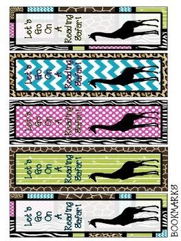 Safari Theme book mark