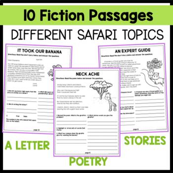 Safari Themed: 20 Short Passages