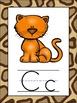 Safari Themed Alphabet Posters