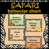 Safari Behavior Clip Chart