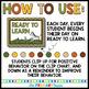 Safari Themed Behavior Clip Chart