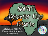 Safari Themed Behavior Clip Chart {Music and General Educa