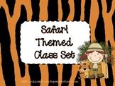 Safari Themed Classroom Set