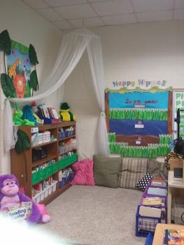 Safari Themed Classroom-behavior system
