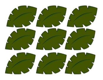Safari Themed Clip Chart
