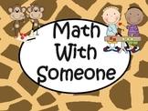Safari Themed Daily 5 Math Signs