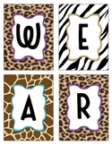 "Safari Themed ""We are wild about _grade!"""