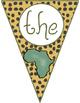 Safari Themed Classroom Decor:  Welcome Banner