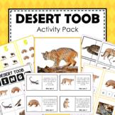 Safari Toob Desert Preschool Kindergarten Learning Pack