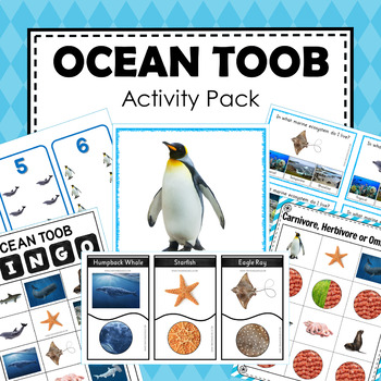 Safari Toob Ocean Themed Preschool and Kindergarten Learning Pack